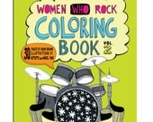 Women Who Rock Coloring Book