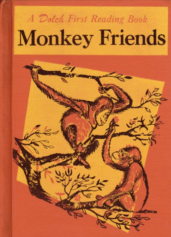 Monkey Friends by Edward W. Dolch and Marguerite P. Dolch, illustrated by Charles Forsythe