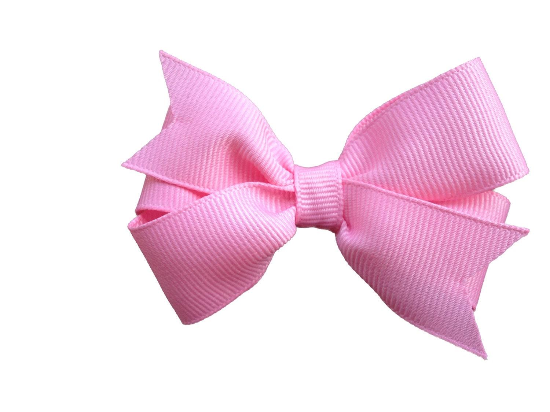 Pink Hair Bow 3 Inch Hair Bows Hair Bows Girls Bows Baby