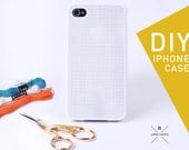DIY Cross Stitch Case for iPhone 4 and 4S, Cross Stich Case, iPhone Case, Cross Stitch, Cross Stitch Accessories, Cell Phone Case-
