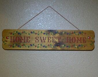 Home Sweet Home - Wood - Sign - Wall Hanger -  MG-165