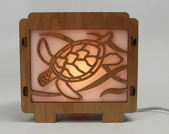 Sea Turtle Lamp Night Light