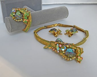 HAR DRAGON Set Necklace, Bracelet and Earrings