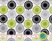Designer Fabric By the Yard Glamour Girl Geo Fabric Modern Fabric Geometric Fabric Olive Green Fabric with Black White and Gray Fabric