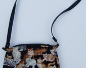 Vintage Cats Everywhere Purse