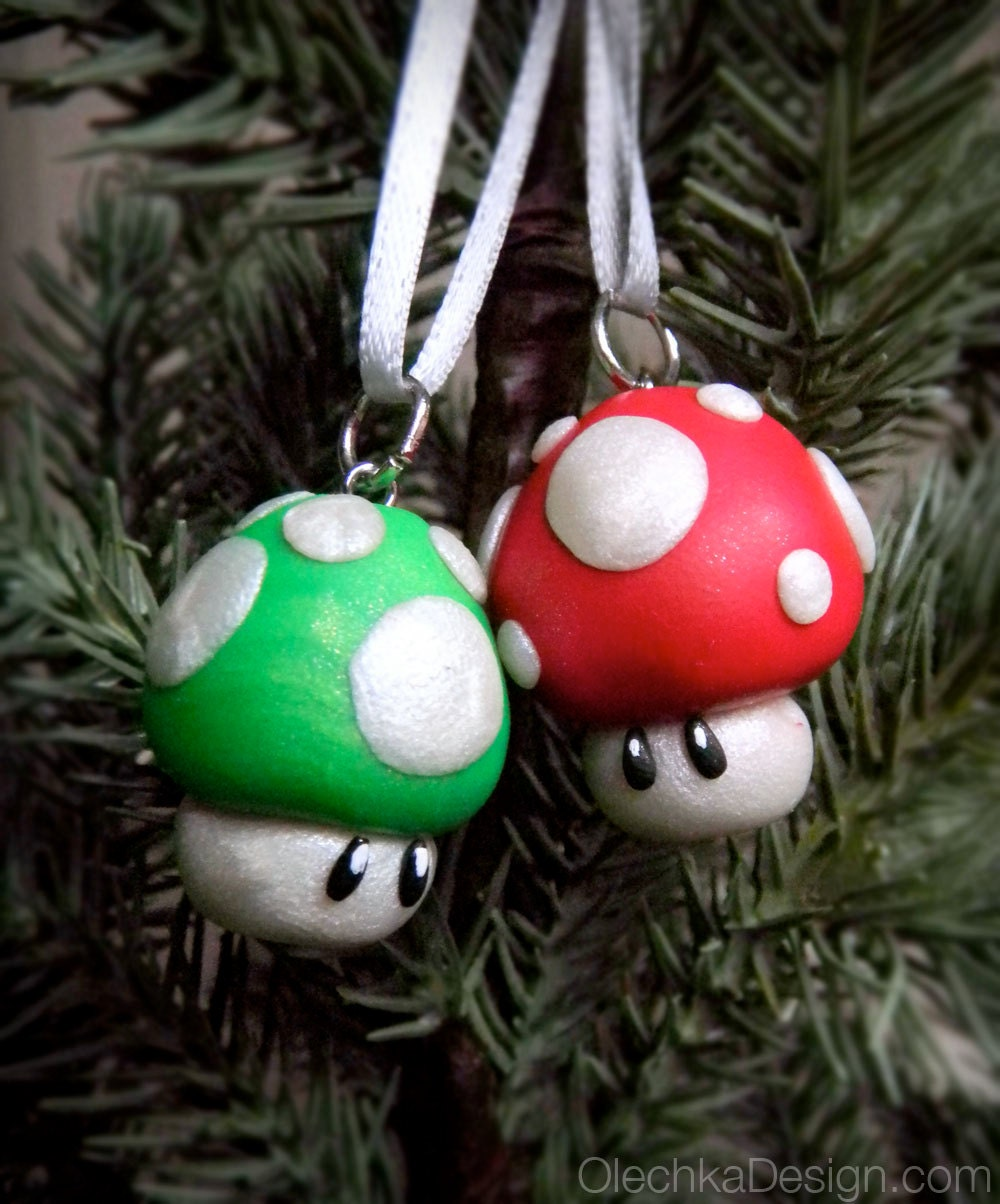 Nintendo Christmas Ornaments - #marugoto