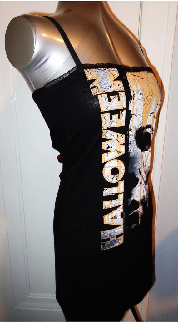 Ladies Halloween Michael Myers Horror Movie Mini Dress Tunic