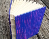 Pink and Purple Striped Travel Sketchbook