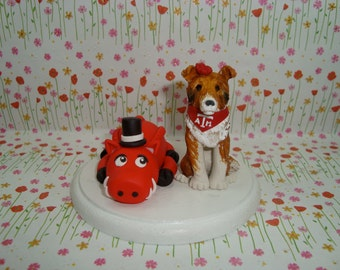 Personalized Mascot Cake Topper