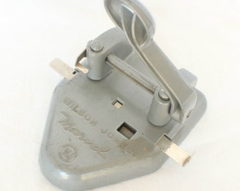 Vintage Wilson Jones two-hole paper punch