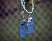 Doctor Who Tardis Friendship Necklaces