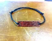 Let It Be Copper Unisex Bracelet