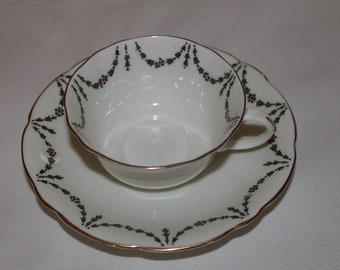 Rare Aynsley Bone China Teacup and Saucer 1905-25