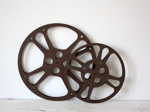 Vintage Film Reel Vintage Film Reels Set of 2