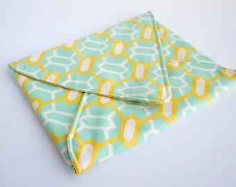 iPad Envelope Sleeve in Trellis Print