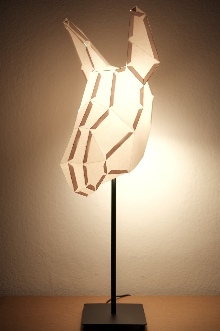 DONKEY MEDIUM / do it yourself paper lamp shade