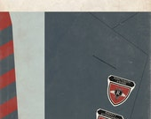 "Rushmore Book Cover Print 11x17"""