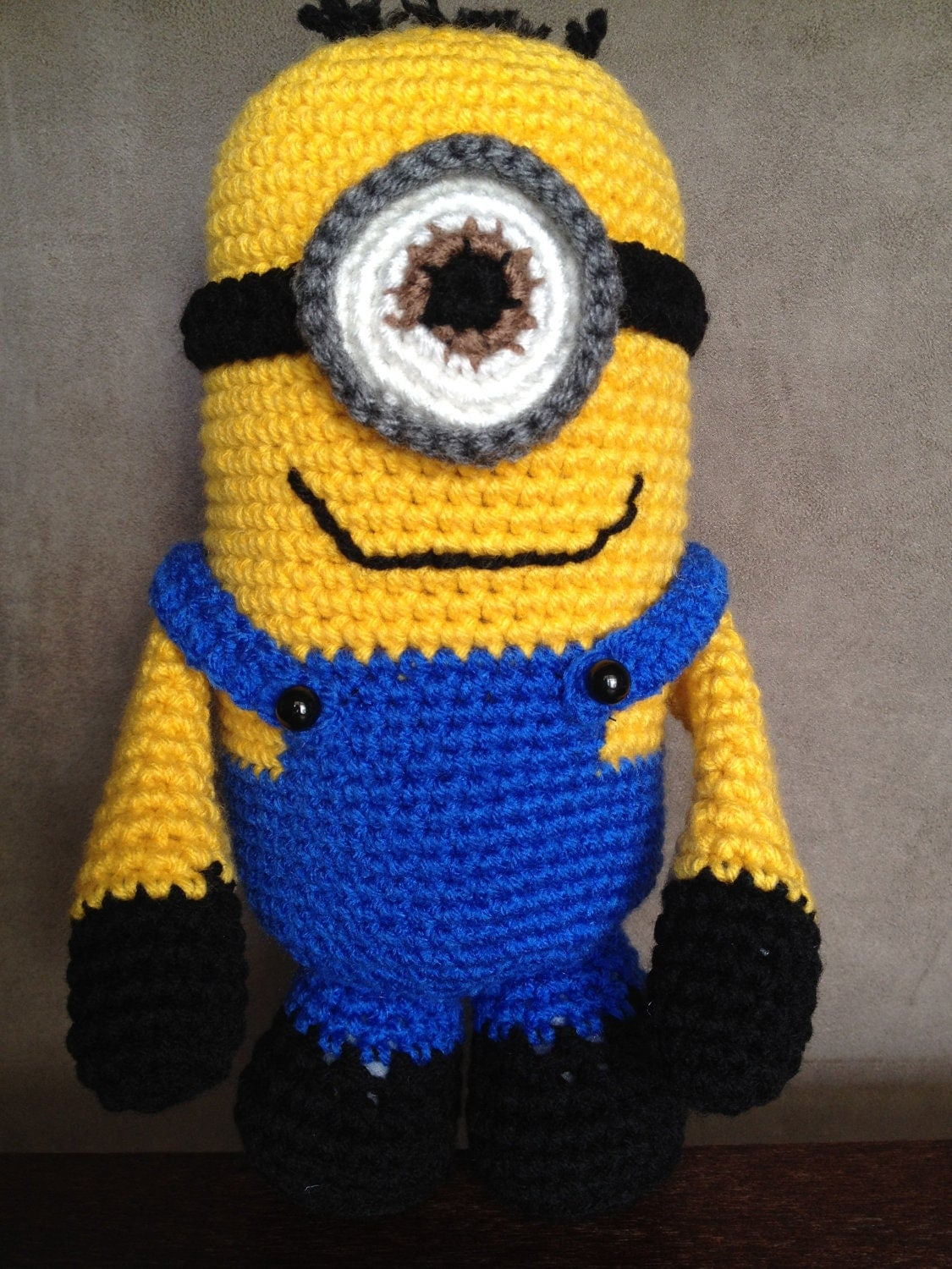 Crochet Purple Minion I Had So Much Fun Making This | Auto ...