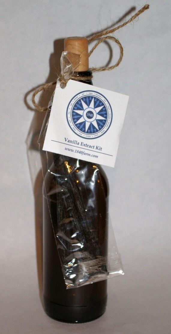 Homemade Vanilla Extract Kit
