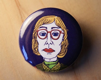 Log Lady - Twin Peaks  //  1.25 inch button