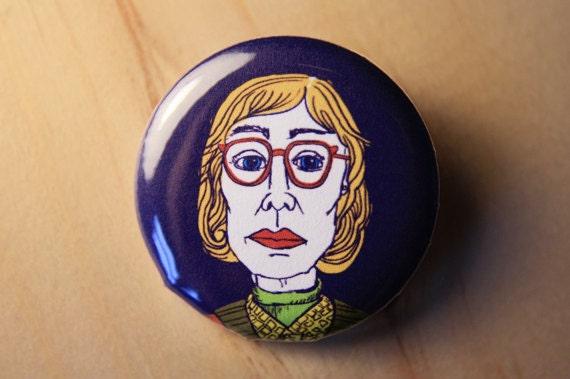 Log Lady - Twin Peaks  //  1.25 inch button