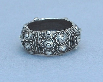 Sea Urchin Ring, size 7- 7 1/2