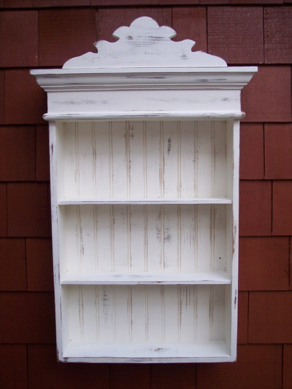 Distressed White Cabinet Bathroom Cabinet Kitchen Cabinet