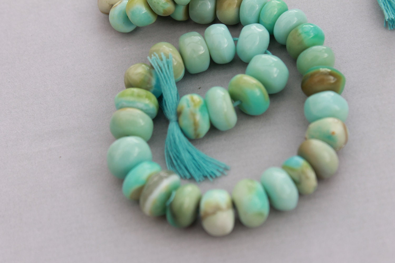 peruvian opal beads