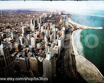 Chicago view - 5x7in photo print