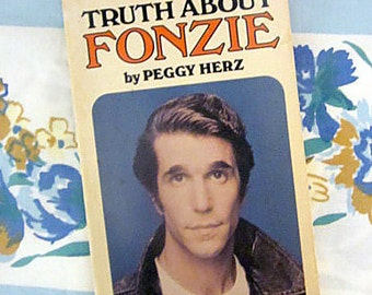 The Truth About Fonzie, 1976 Scholastic book
