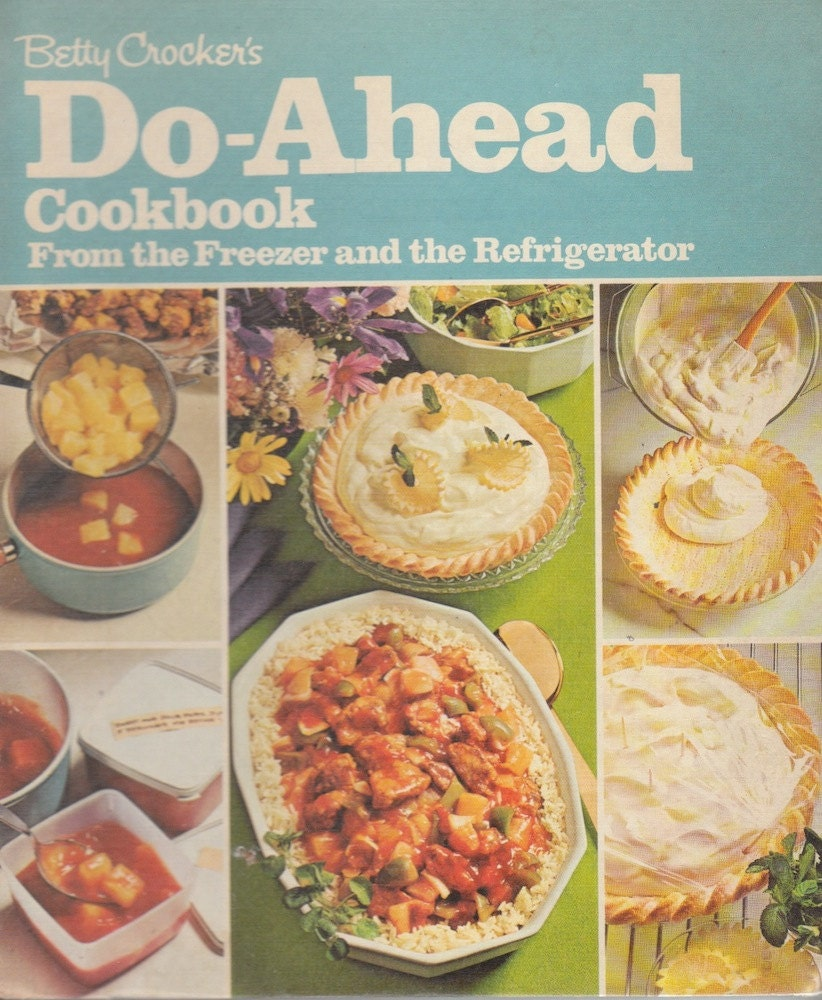 Betty Crocker's 1972 seventeenth printing cook book