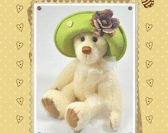 Daisy Bear Felt Pattern