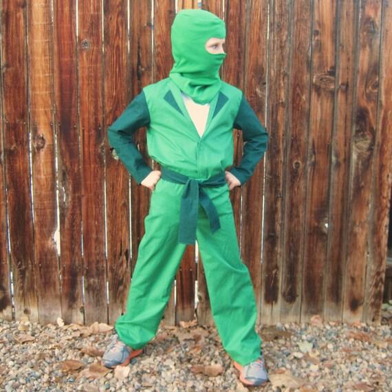 LEGO Ninjago BASIC verde Ninja inspirado traje para niños