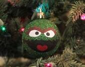Oscar Hand Painted Christmas Ornament