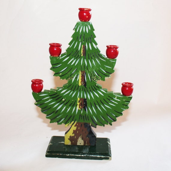 Christmas Tree Sweden: Vintage 1940s Swedish Folk Art Wood Christmas By SwedenFolkArt