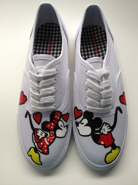 Minnie Mouse Womens Tennis Shoes