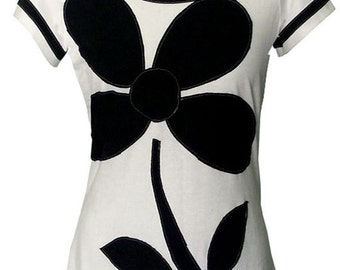"Shirt ""BLACK FLOWER"""