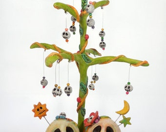 Paper Clay Skelly Family Tree
