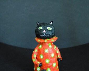 Black Cat Folk Art