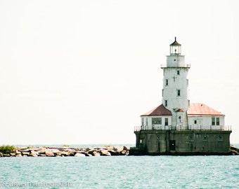 Lighthouse Fine Art Photography Print - Nautical, Beach, Ocean, Photography