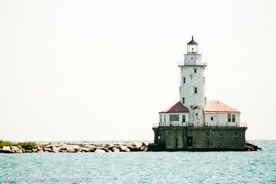 Lighthouse Fine Art Photography Print - Nautical, Beach, Ocean, Photography