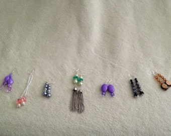 Handcrafted Beaded Fashion Earrings