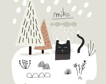 Miko Neige / Poster Print