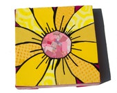 Yellow Gerber Daisy ART -...