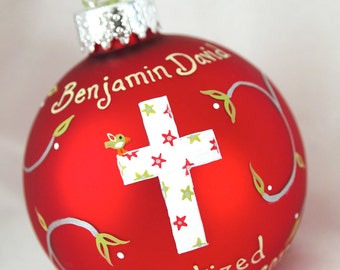 Christmas Baptism Ornament