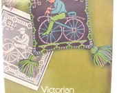 1970s Victorian Needlepoint Designs Godey's Lady's Book Patterns Craft Book