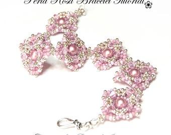 Perla Rosa Bracelet Tutorial