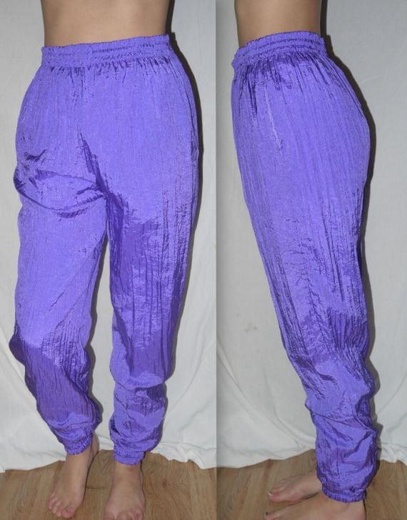 Swish Vintage 80s 90s Neon Pants Hip Hop Urban Hipster