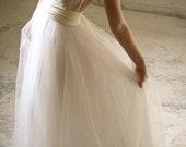 "Royal Tulle Ballgown  ""Infinity"" Wedding Dress - Ivory"