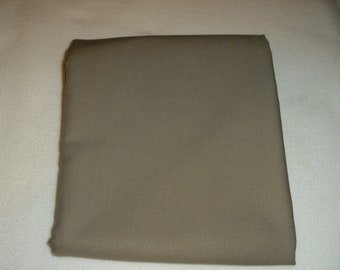 Mushroom Brown Solid Color  Baby Toddler Bed Fitted Sheet